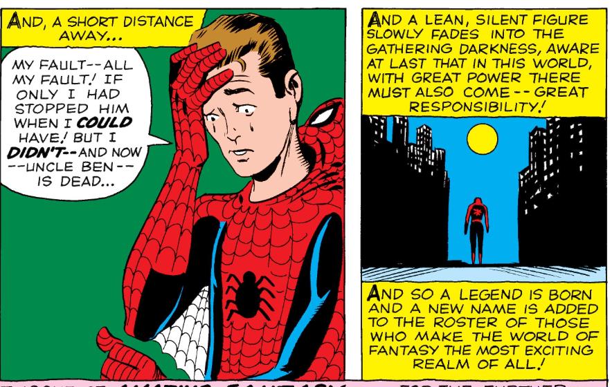 The Origin Of Spider-Man