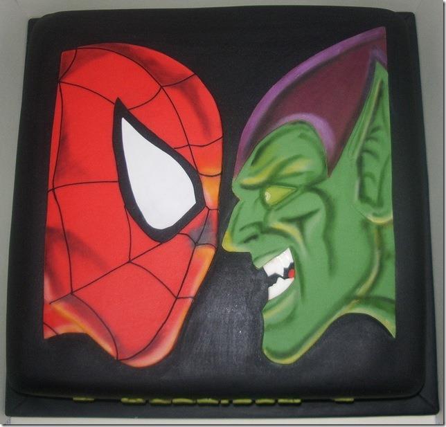 Spider-Man vs. Green Goblin Cake