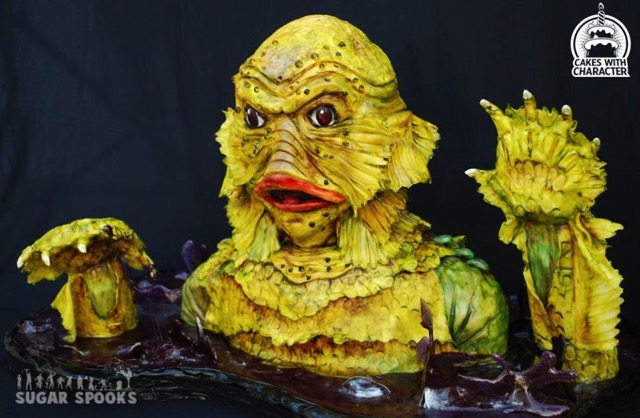 Creature From The Black Lagoon Cake