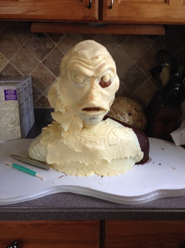 Creature From the Black Logoon Cake