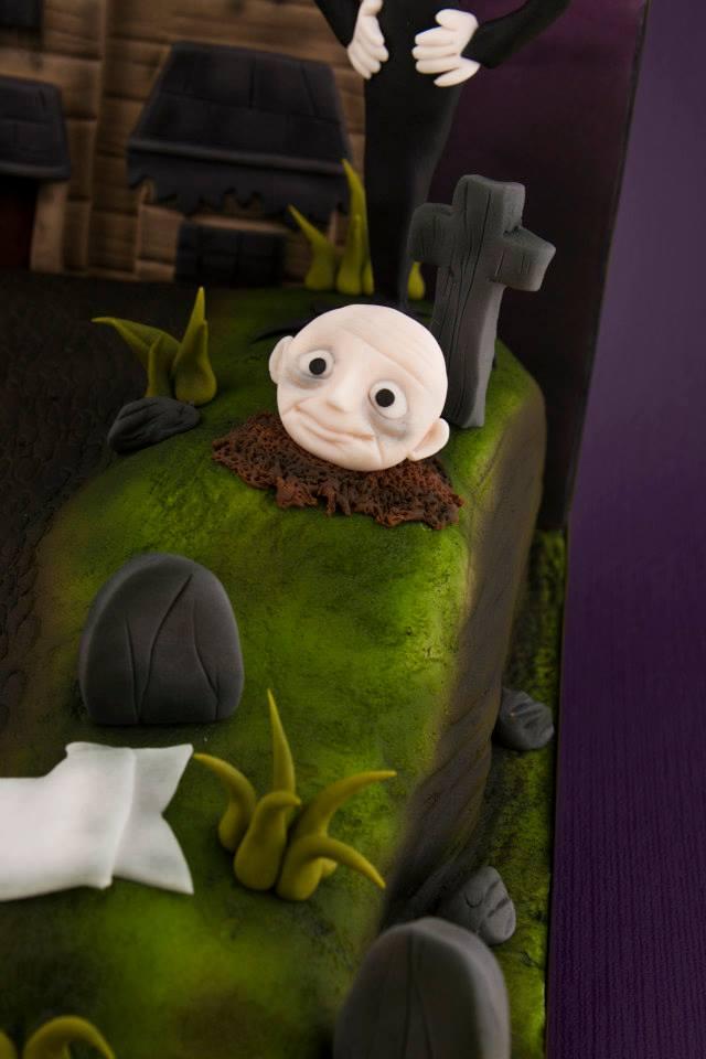Uncle Fester Cake Figure