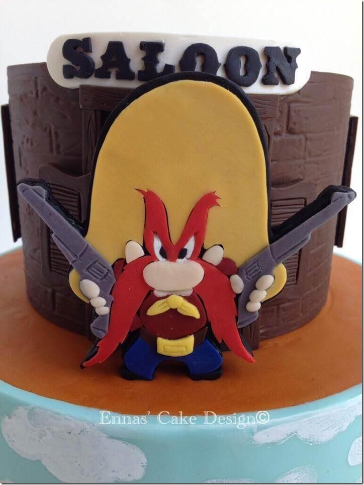 Yosemite Sam Cake