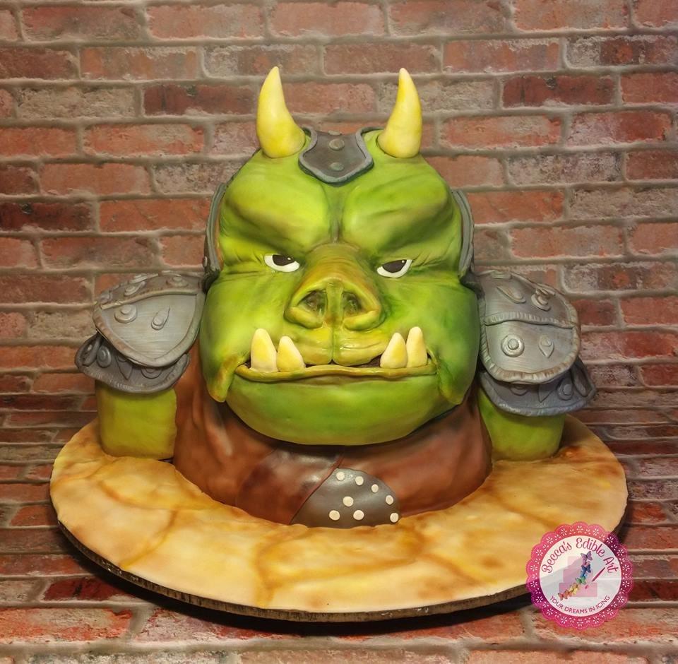 Gamorrean Guard Cake