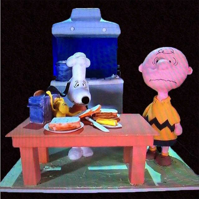 Charlie Brown Thanksgiving Cake