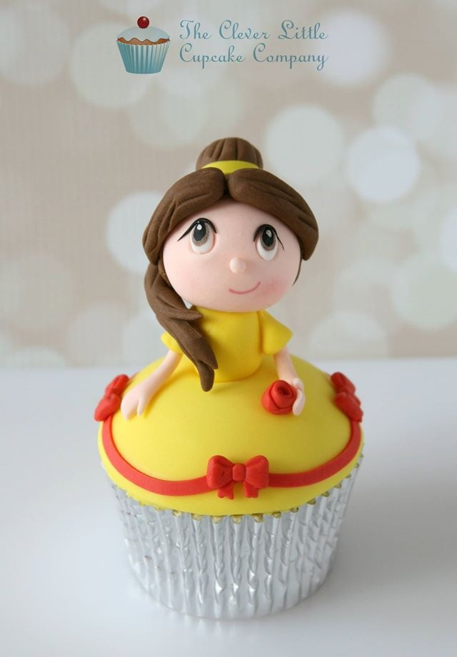 Kawaii Belle Cupcake