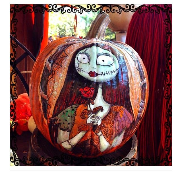 Nightmare Before Christmas Pumpkin