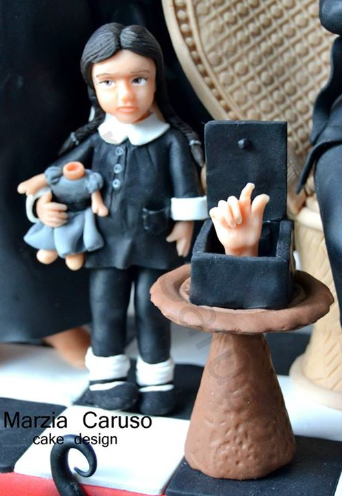 Wednesday & Thing Cake Toppers