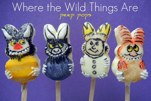 Where The Wild Things Are Peeps
