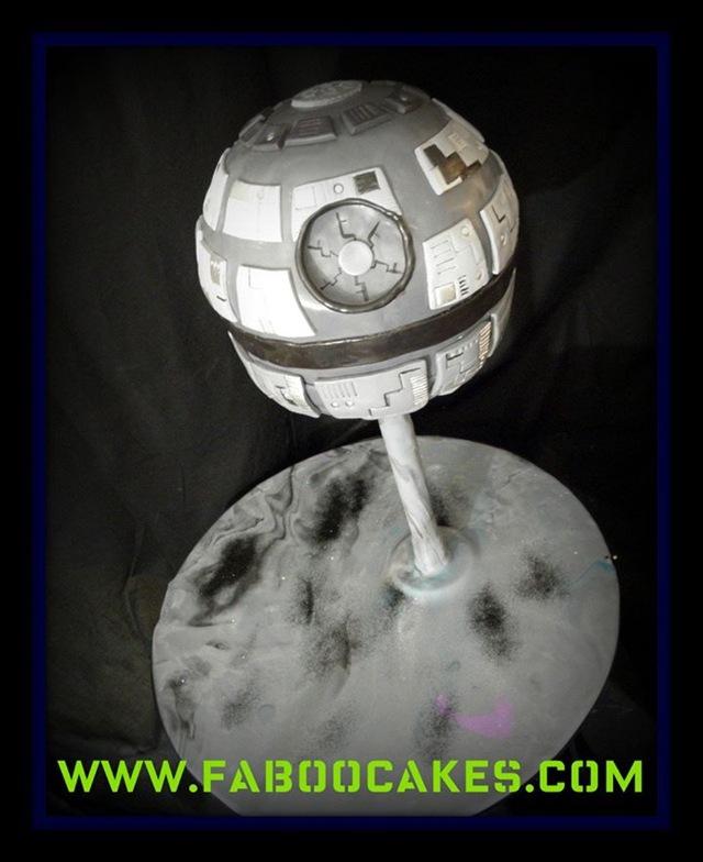 Death Star Groom's Cake