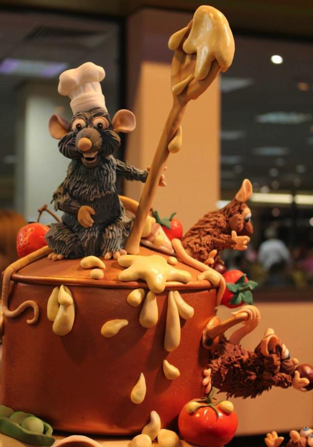 Remy Cake Figure