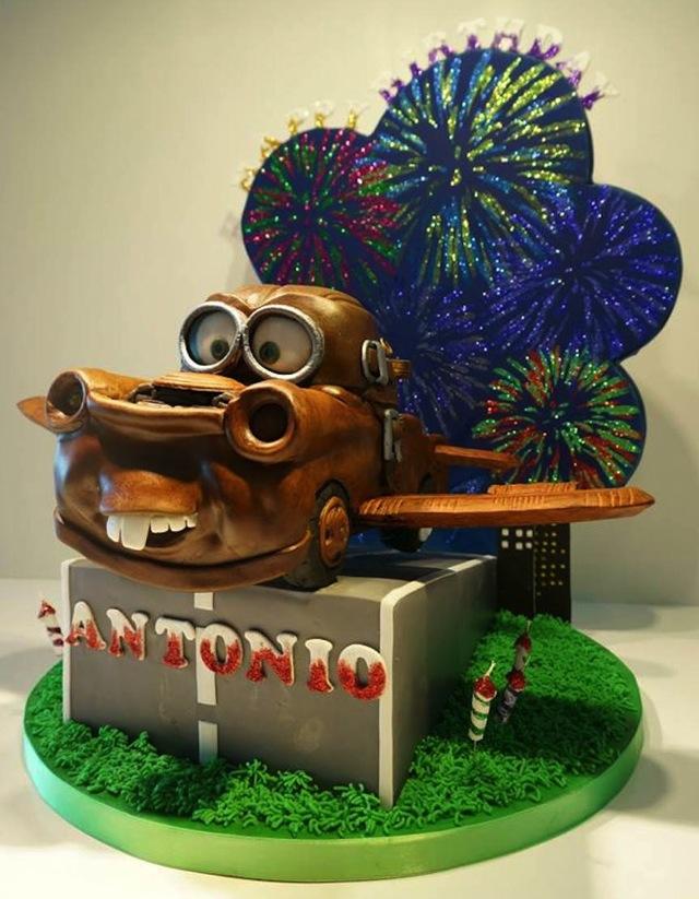 Flying Mater Cake