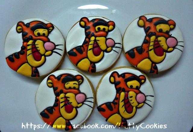 Tigger Cookie