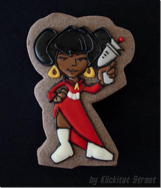 Uhura Cookie