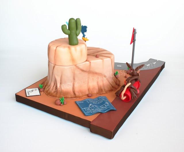 Road Runner Cake