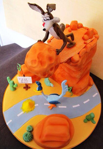 Wile E. Coyote Cake