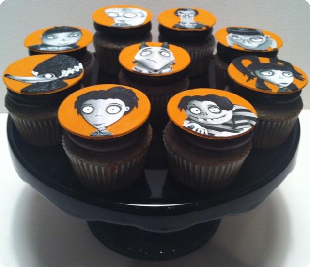 Frankenweenie Cupcakes