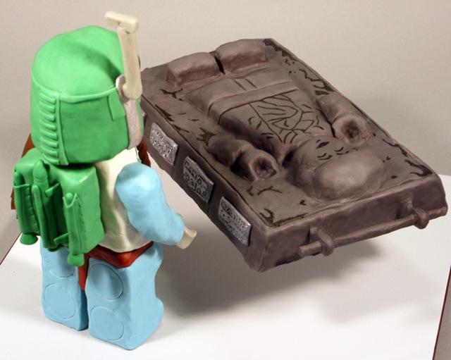 LEGO Boba Fett Cake