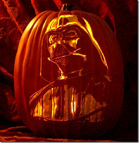Star Wars Pumpkin Carving