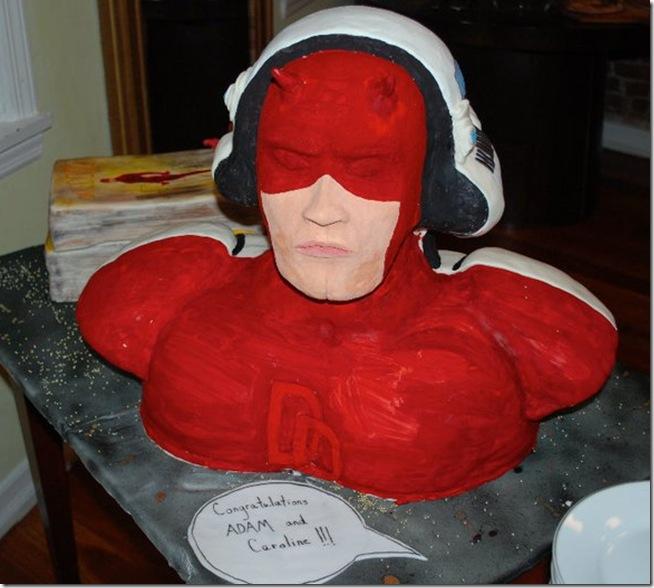 Daredevil Cake