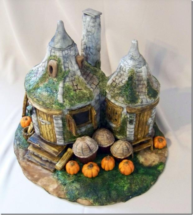 Hagrids Hut Cake