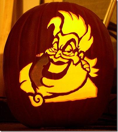 Ursula Pumpkin Carving