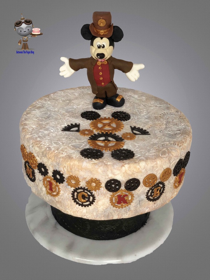 Steampunk Mickey Mouse Cake