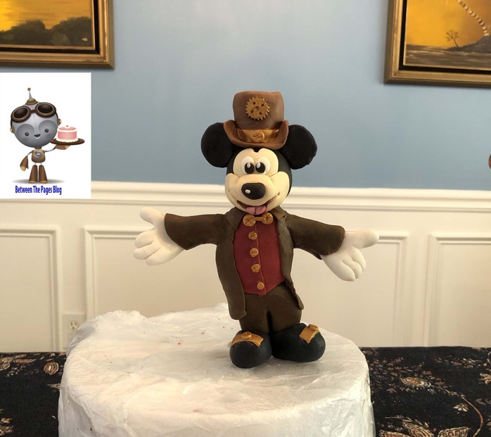 Steampunk Mickey Mouse Cake Topper