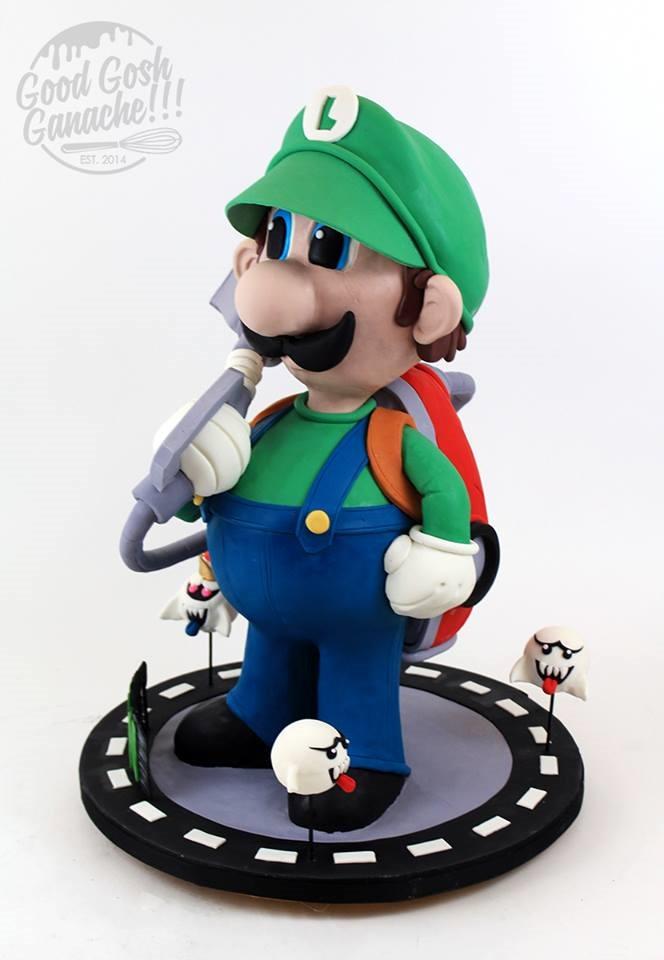Luigi's Mansion Cake
