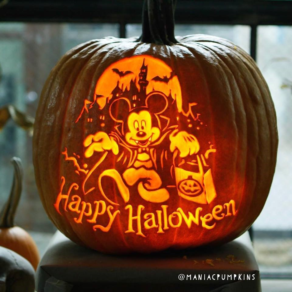 Happy Halloween From Count Mickey Mouse Between The Pages Blog