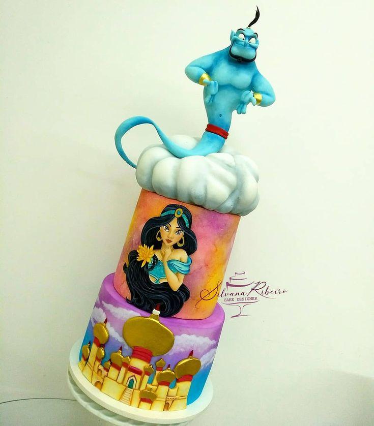 Genie and Jasmine Cake