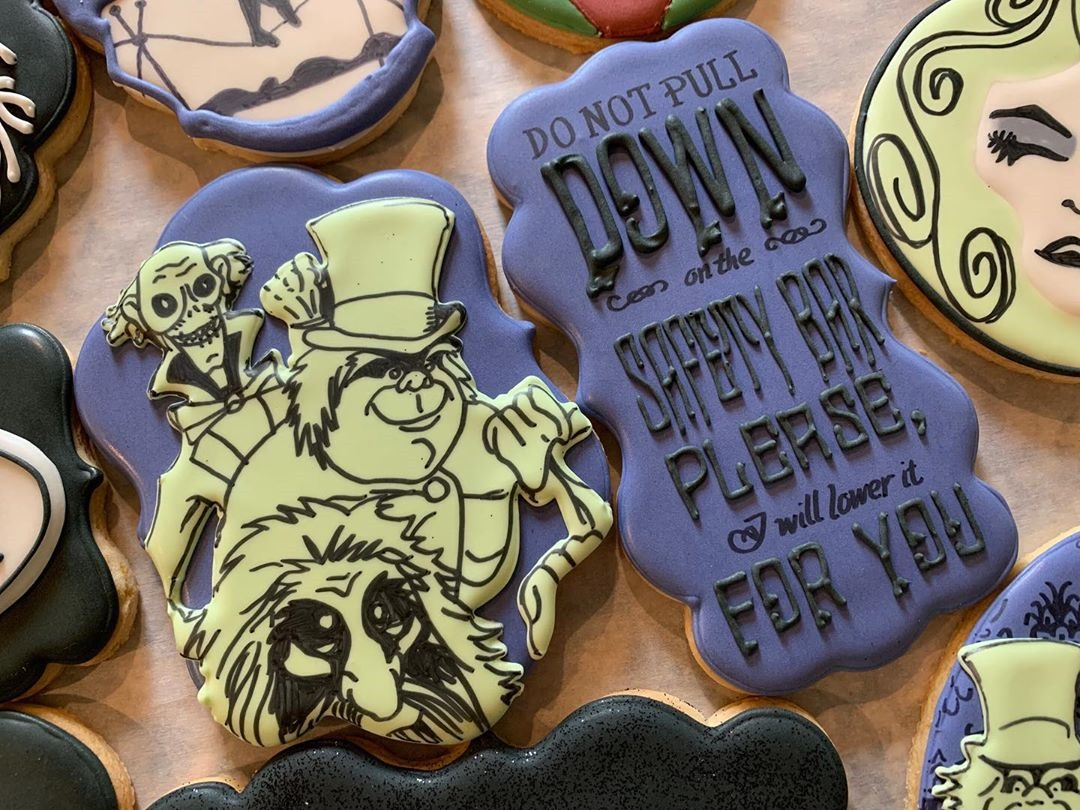 Hitchhiking Ghost Cookies