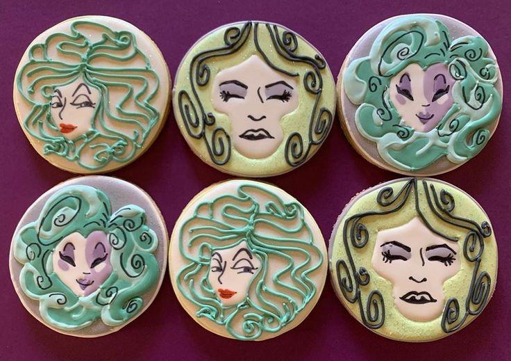 Madam Leota Cookies made by Allys Cookies