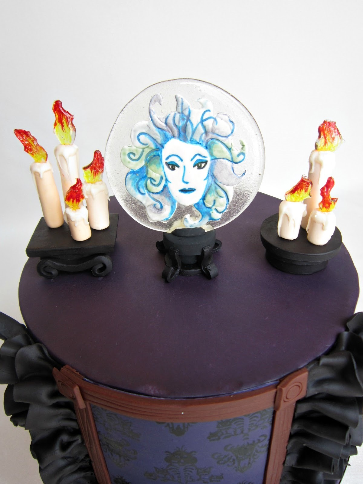 Madame Leota Cake Topper 1