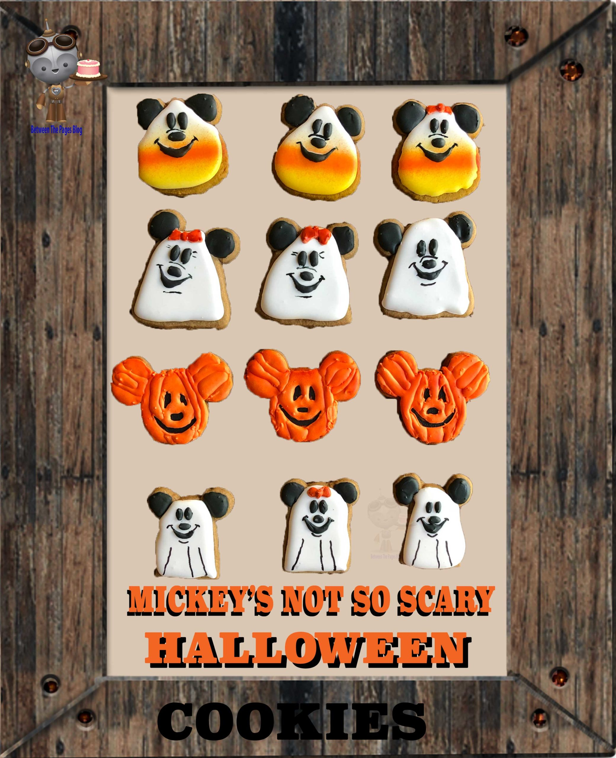 Mickey Halloween cookies