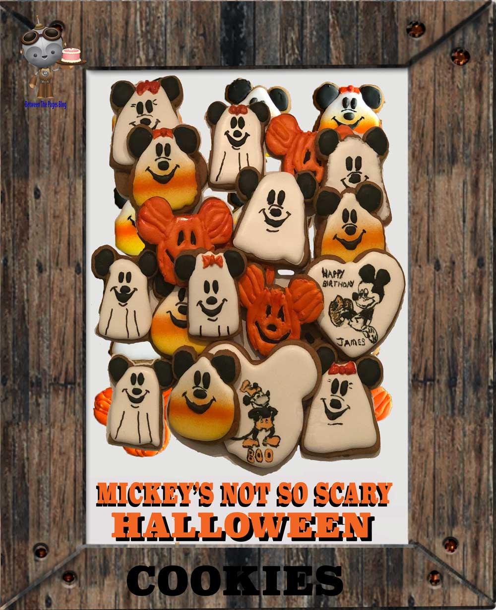 Mickey's Not So Scary Halloween cookies