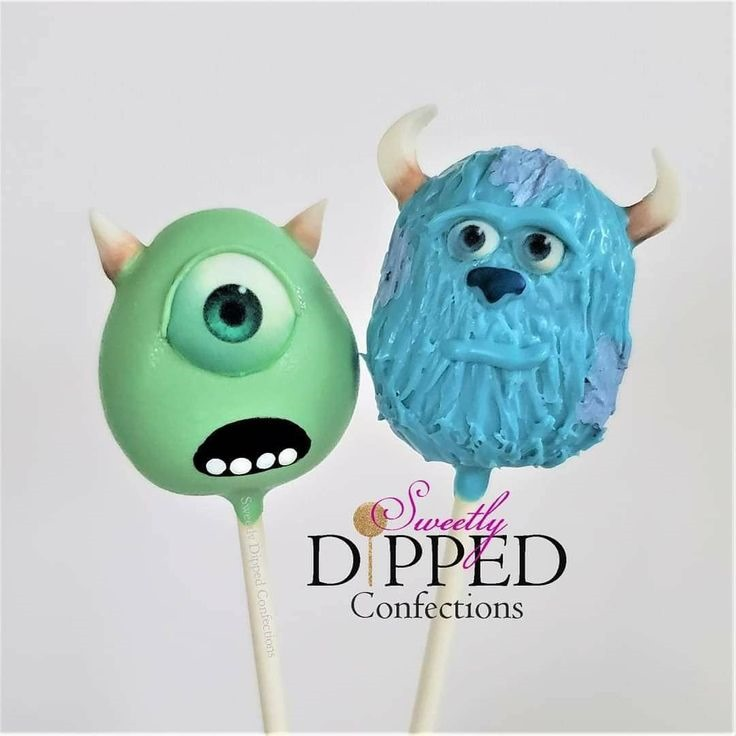 Monsters, Inc. Cake Pops