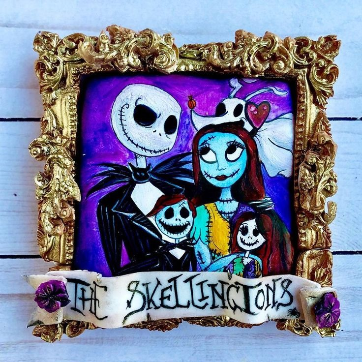 Nightmare Before Christmas Family Portrait