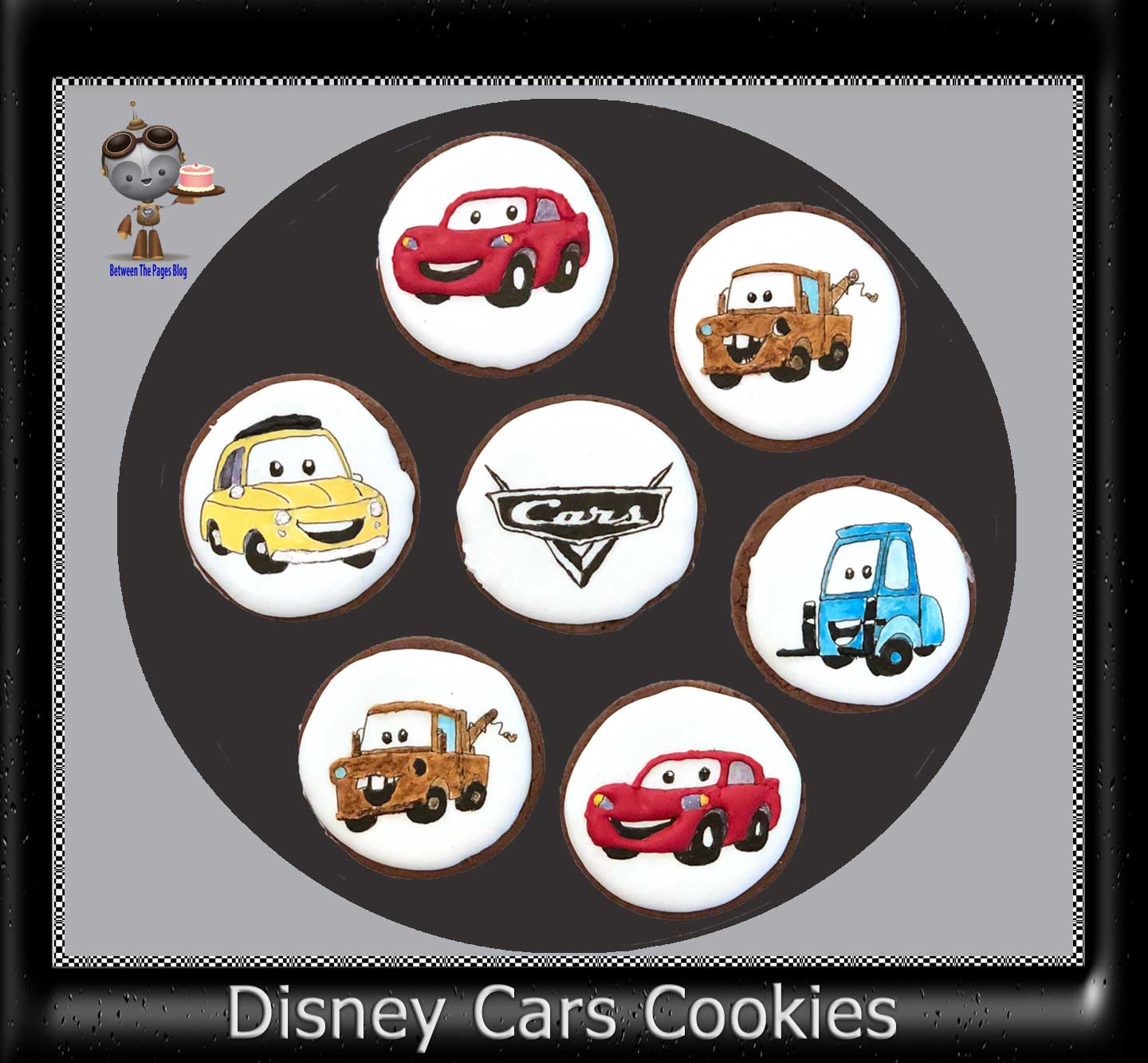 Disney Cars Cookies