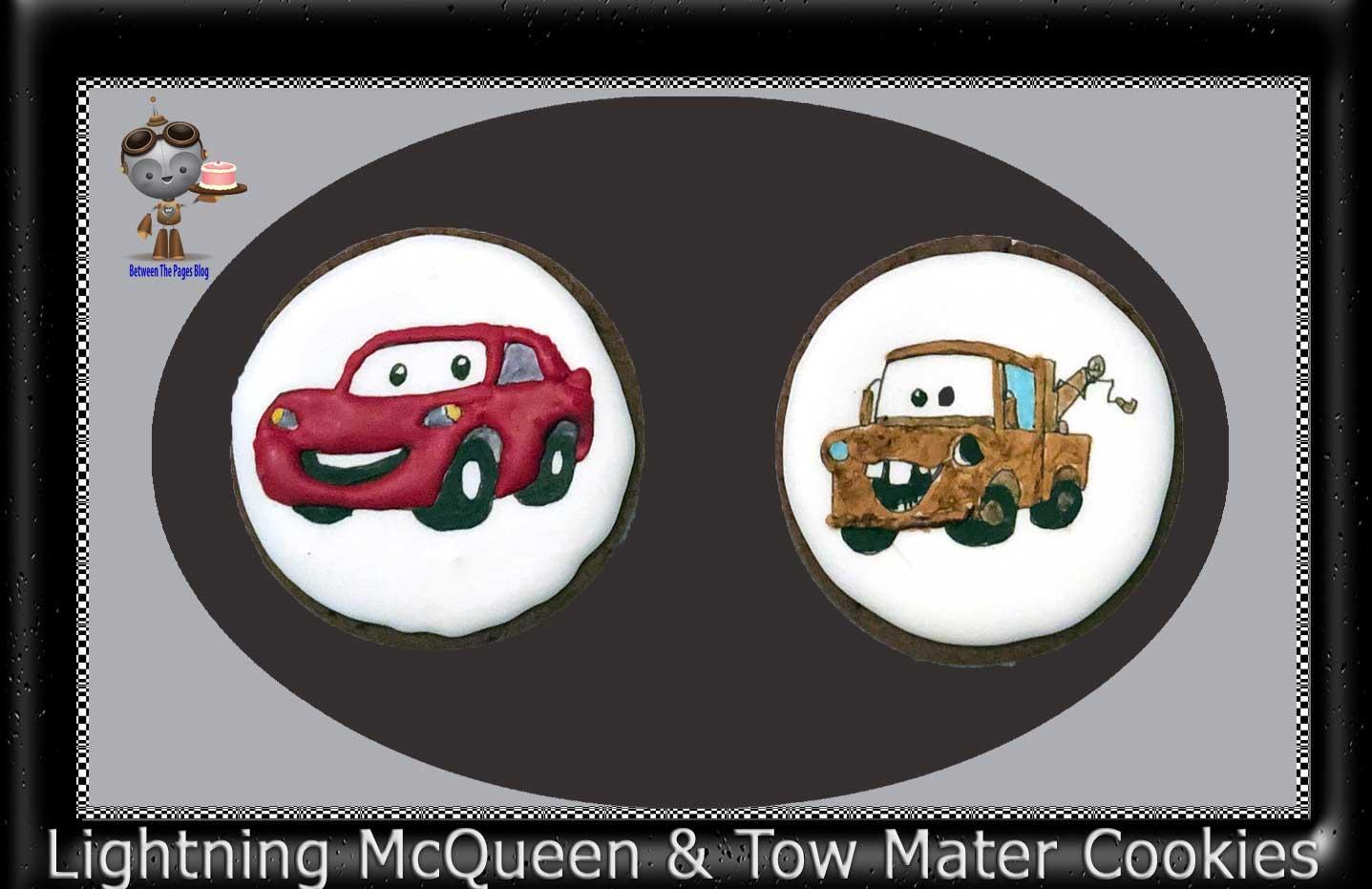 Lightning McQueen and Tow Mater Cookies