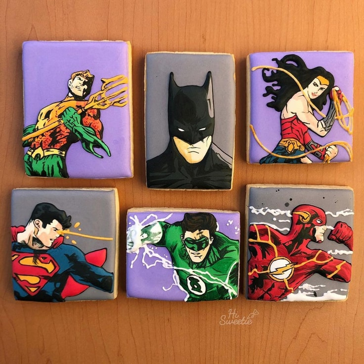 Justice League Cookies