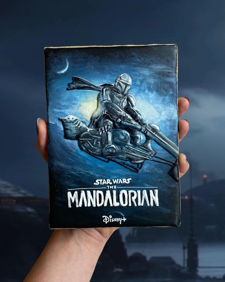 Mandalorian Cookie