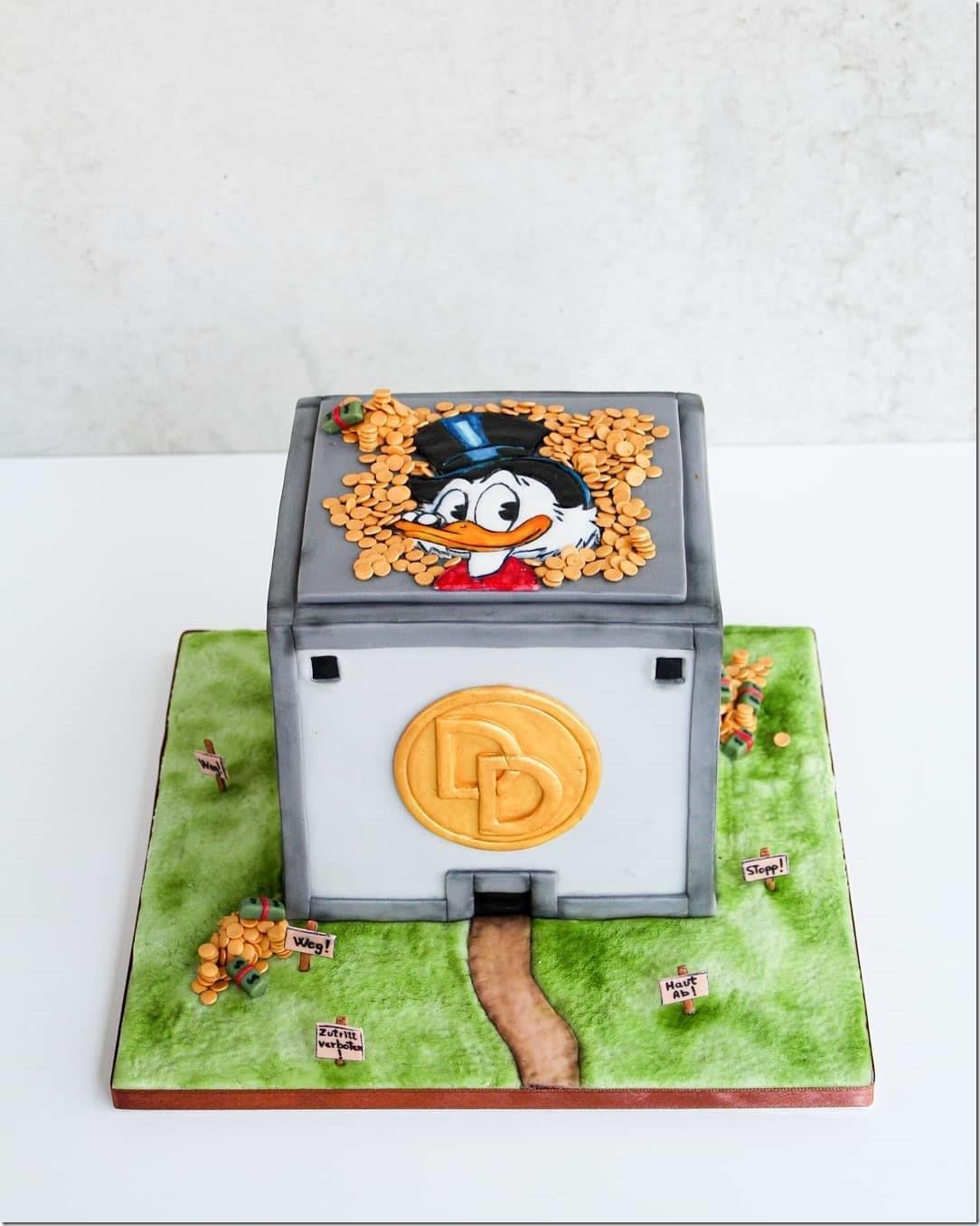 Moneybin Cake