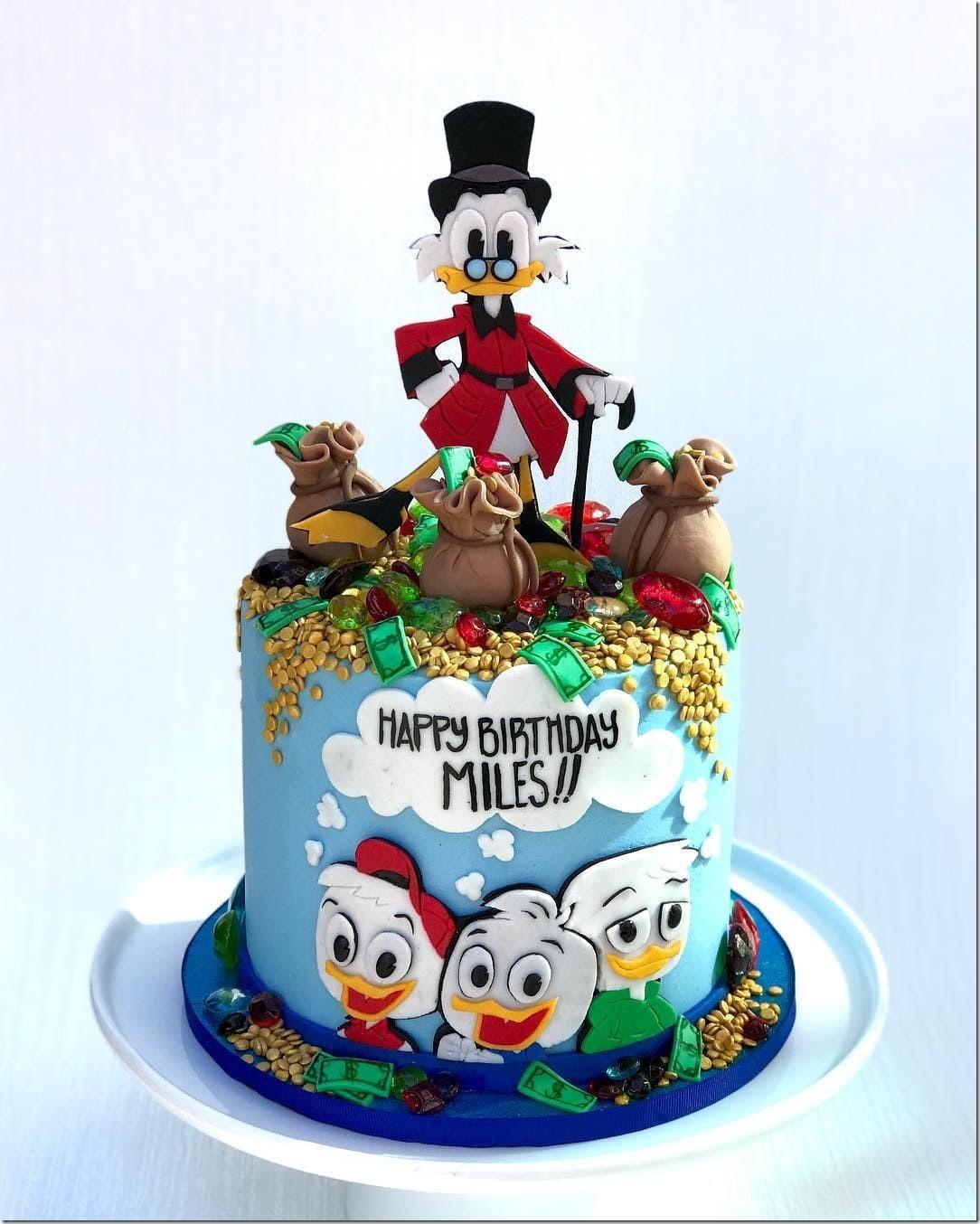 Uncle Scrooge Birthday Cake
