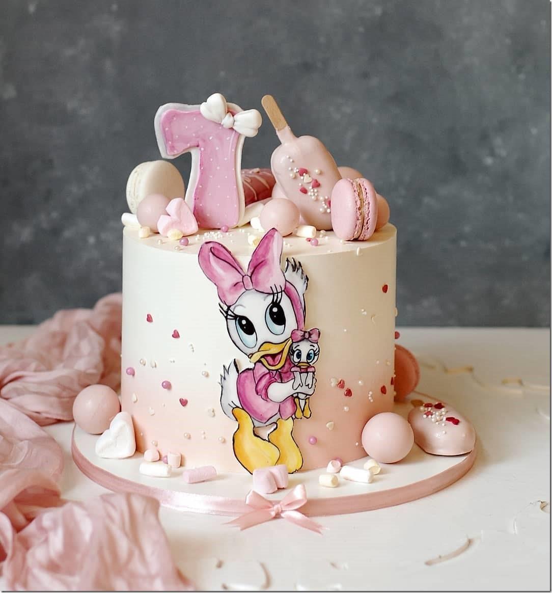 Webby Vanderquack Cake