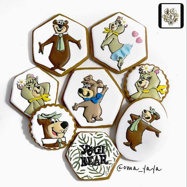 Yogi Bear Cookies