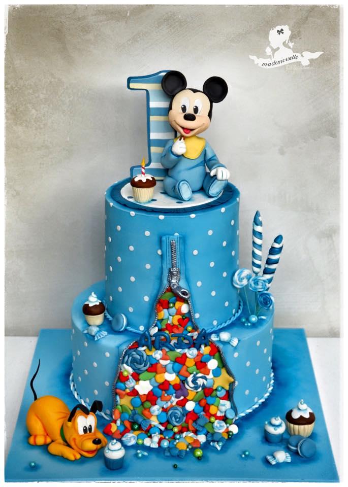 Baby Mickey Muse Cake