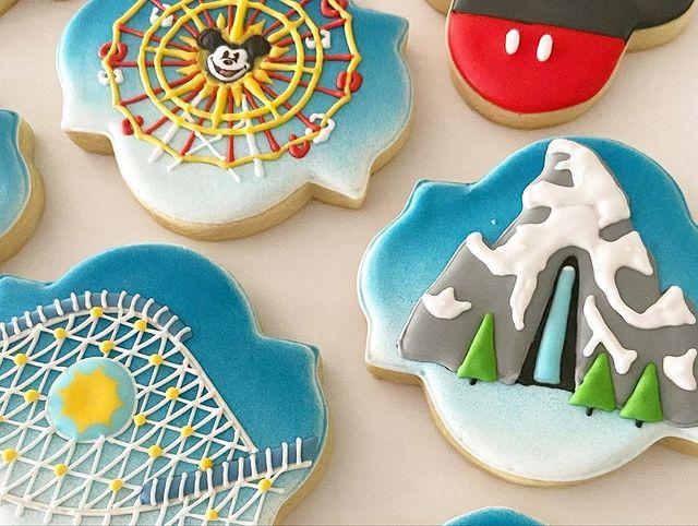 Disneyland Cookies
