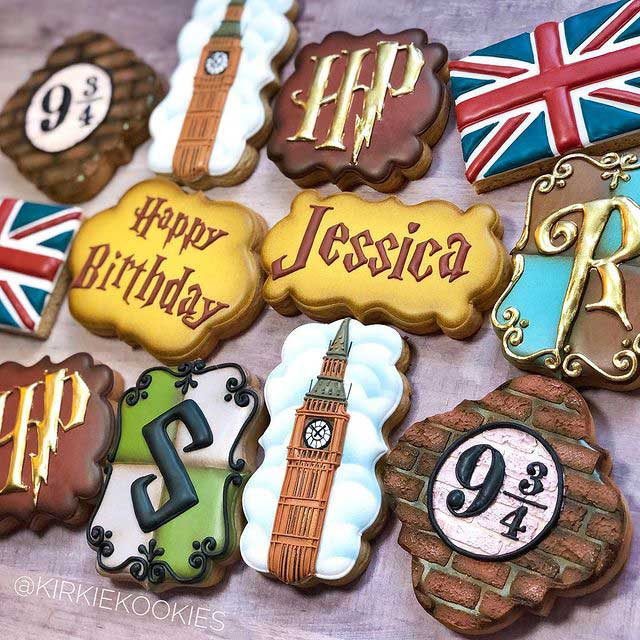 Happy Potter Cookies