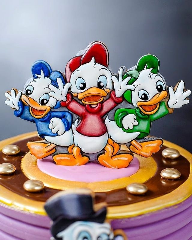 Huey Dewey Louie Cake