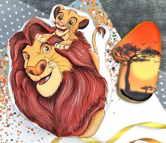 Lion King cookies